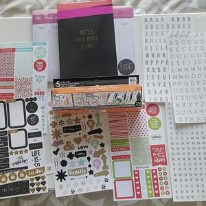 Planner stickers and accessories